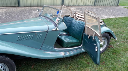 MG TF Midget 1250 1954 Green 53k Miles 5 Owners Original TD For Sale (picture 4 of 6)