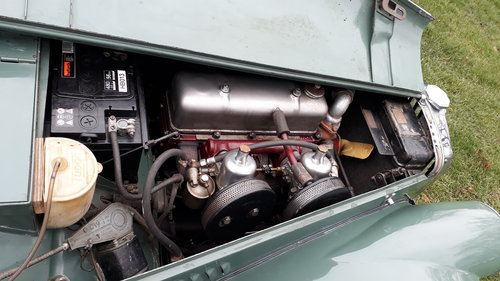 MG TF Midget 1250 1954 Green 53k Miles 5 Owners Original TD For Sale (picture 6 of 6)