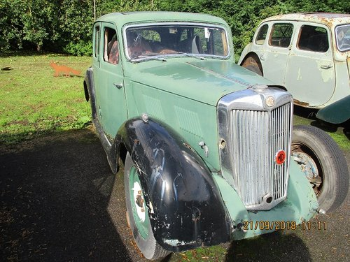 1950 MG YA - Restoration Project For Sale (picture 2 of 3)