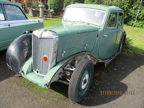 1950 MG YA - Restoration Project For Sale (picture 3 of 3)