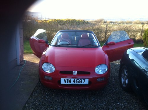 1998 mg  mgf sports For Sale (picture 6 of 6)