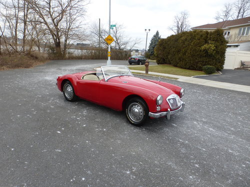 1962 MG A MK-II Older Restoration Nice Driver - For Sale (picture 1 of 6)