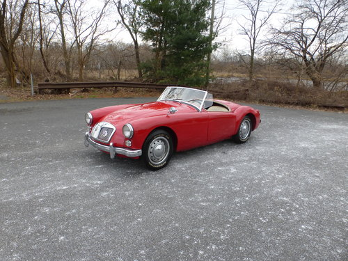 1962 MG A MK-II Older Restoration Nice Driver - For Sale (picture 3 of 6)