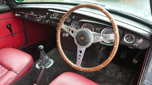 Fully Restored 1968 MGC GT Manual Overdrive For Sale (picture 5 of 6)