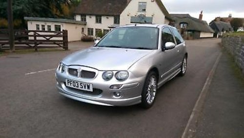 2003 MG ZR 1.8 120 Stepspeed + For Sale (picture 1 of 6)