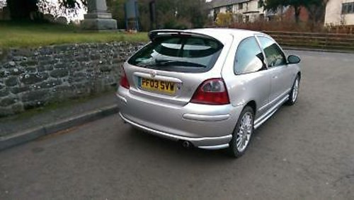 2003 MG ZR 1.8 120 Stepspeed + For Sale (picture 2 of 6)