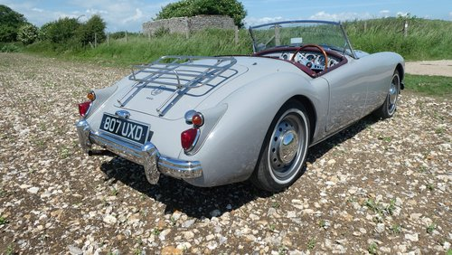 1960 MGA roadster  UK RHD car  SOLD (picture 1 of 6)