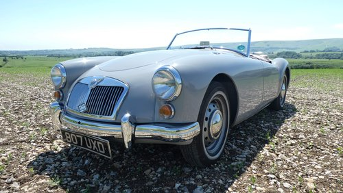 1960 MGA roadster  UK RHD car  SOLD (picture 5 of 6)