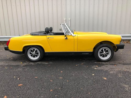 1980 MG MIDGET 1500 JUST 900 MILES FROM NEW!! SOLD (picture 2 of 6)