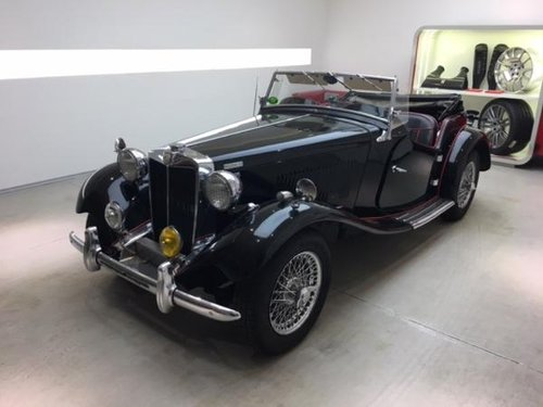 1952 MG TD MARK II ROADSTER SUPERCHARGED For Sale (picture 1 of 6)