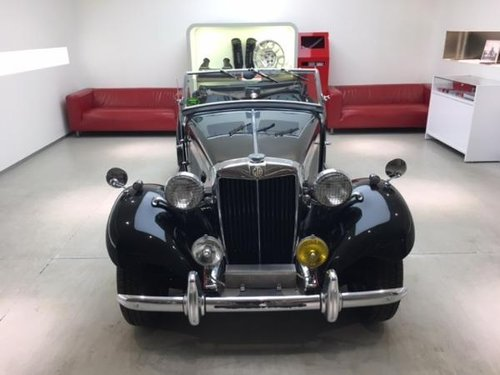 1952 MG TD MARK II ROADSTER SUPERCHARGED For Sale (picture 2 of 6)