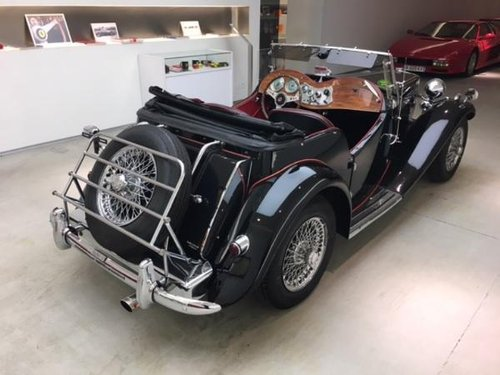 1952 MG TD MARK II ROADSTER SUPERCHARGED For Sale (picture 3 of 6)