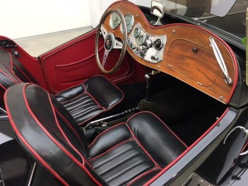 1952 MG TD MARK II ROADSTER SUPERCHARGED For Sale (picture 5 of 6)