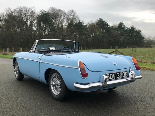 1964 MGB Roadster MK I Pull with Overdrive SOLD (picture 4 of 6)