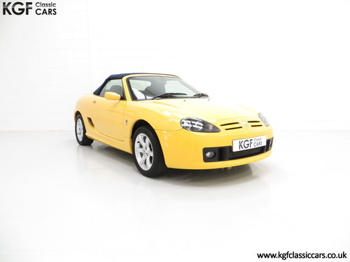 2004 A Rare Trophy Yellow MG TF 135 with Just 16,470 Miles SOLD (picture 1 of 6)