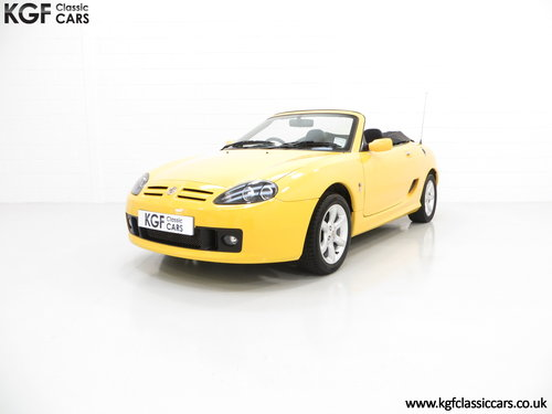 2004 A Rare Trophy Yellow MG TF 135 with Just 16,470 Miles SOLD (picture 2 of 6)