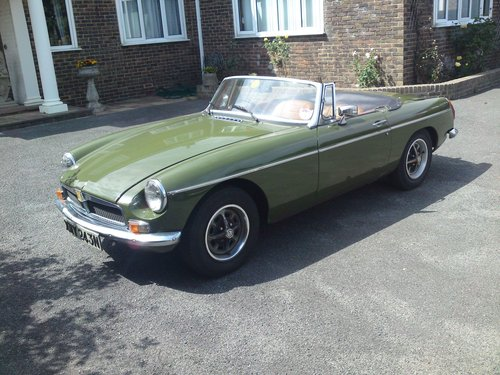 MGB Roadster 1974 - N reg - One Of Last Built For Sale (picture 1 of 6)