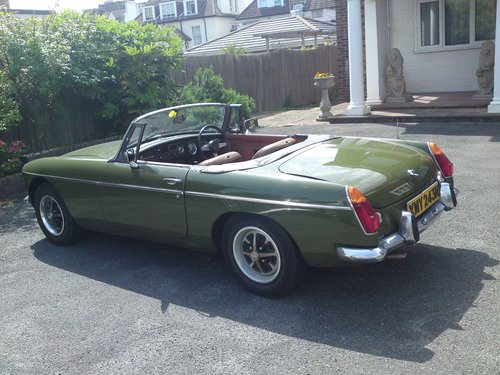 MGB Roadster 1974 - N reg - One Of Last Built For Sale (picture 5 of 6)