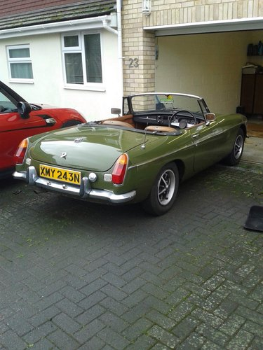 MGB Roadster 1974 - N reg - One Of Last Built For Sale (picture 6 of 6)