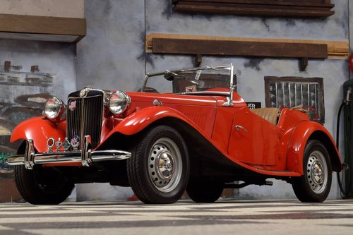 1951 MG TD Roadster For Sale (picture 1 of 6)