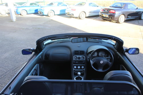 2005 MGTF 135, LEATHER INTERIOR, GLASS WINDOW, RAC WARRANTY For Sale (picture 5 of 6)
