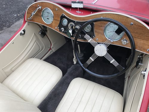 1937 MG TA RESERVED SOLD (picture 5 of 6)