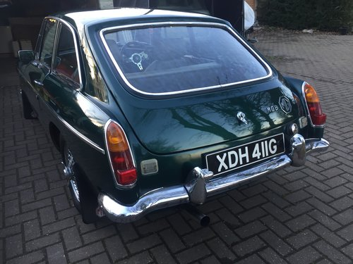 1968 Good looking MGB just serviced SOLD (picture 3 of 6)
