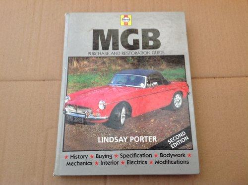 MGB Purchase & Restoration - Lindsay Porter - Haynes  For Sale (picture 1 of 2)