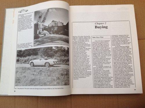MGB Purchase & Restoration - Lindsay Porter - Haynes  For Sale (picture 2 of 2)