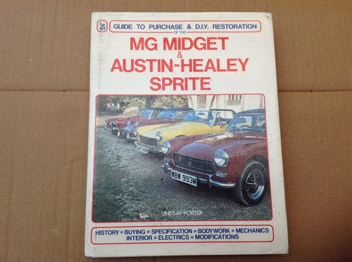 Midget Austin Healey Sprite Guide to Purchase & Restoration For Sale (picture 1 of 2)