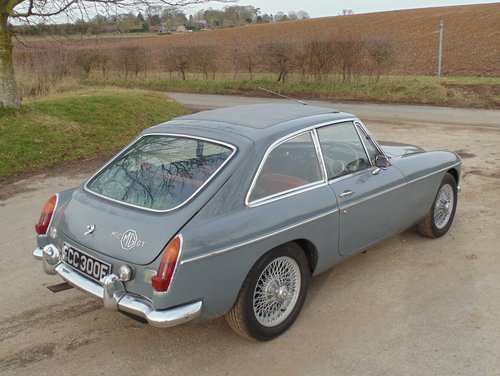 1968 MG C GT For Sale (picture 3 of 6)