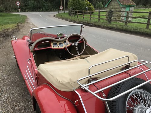 1954 MG TF with many extras - price adjusted For Sale (picture 2 of 6)