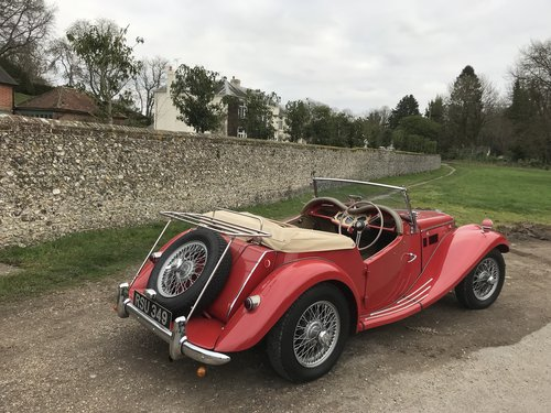 1954 MG TF with many extras - price adjusted For Sale (picture 3 of 6)