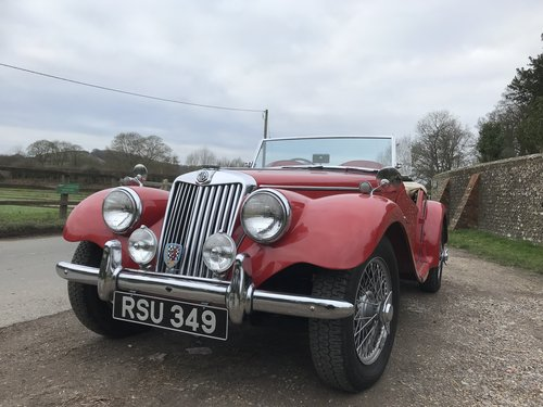 1954 MG TF with many extras - price adjusted For Sale (picture 4 of 6)