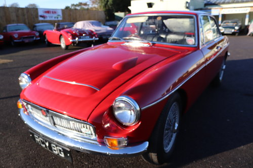1969 MGC GT ,RCY 8G, UK car SOLD (picture 1 of 6)