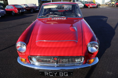 1969 MGC GT ,RCY 8G, UK car SOLD (picture 2 of 6)