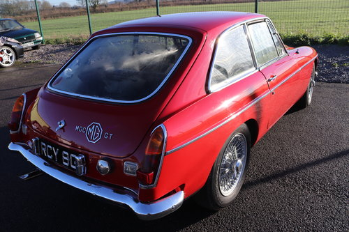 1969 MGC GT ,RCY 8G, UK car SOLD (picture 4 of 6)