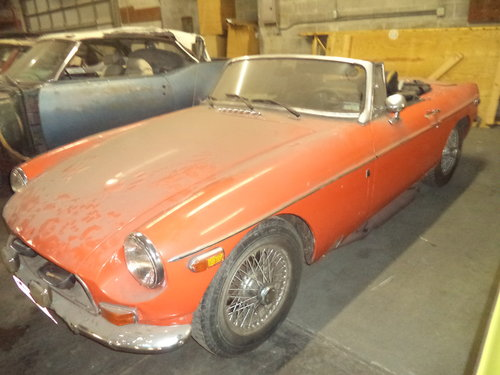 1972 MGB Roadster $3500 USD For Sale (picture 1 of 6)
