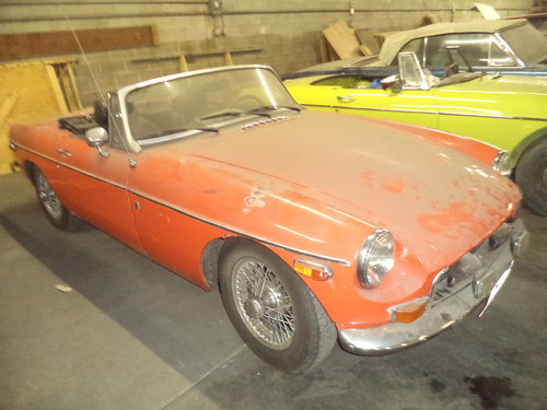 1972 MGB Roadster $3500 USD For Sale (picture 3 of 6)