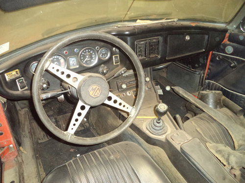 1972 MGB Roadster $3500 USD For Sale (picture 4 of 6)