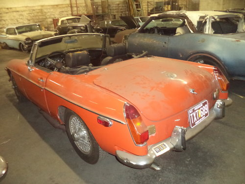 1972 MGB Roadster $3500 USD For Sale (picture 5 of 6)