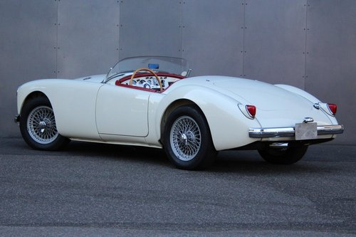 1958 MG A 1500 Supercharged LHD For Sale (picture 6 of 6)