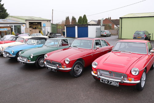 1967 MGB HERITAGE SHELL SOLD (picture 5 of 5)
