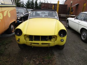 1978 MG Midget Restoration Project For Sale