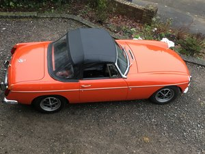 MGB ROADSTER 1972 LOVELY CAR FROM HCC For Sale