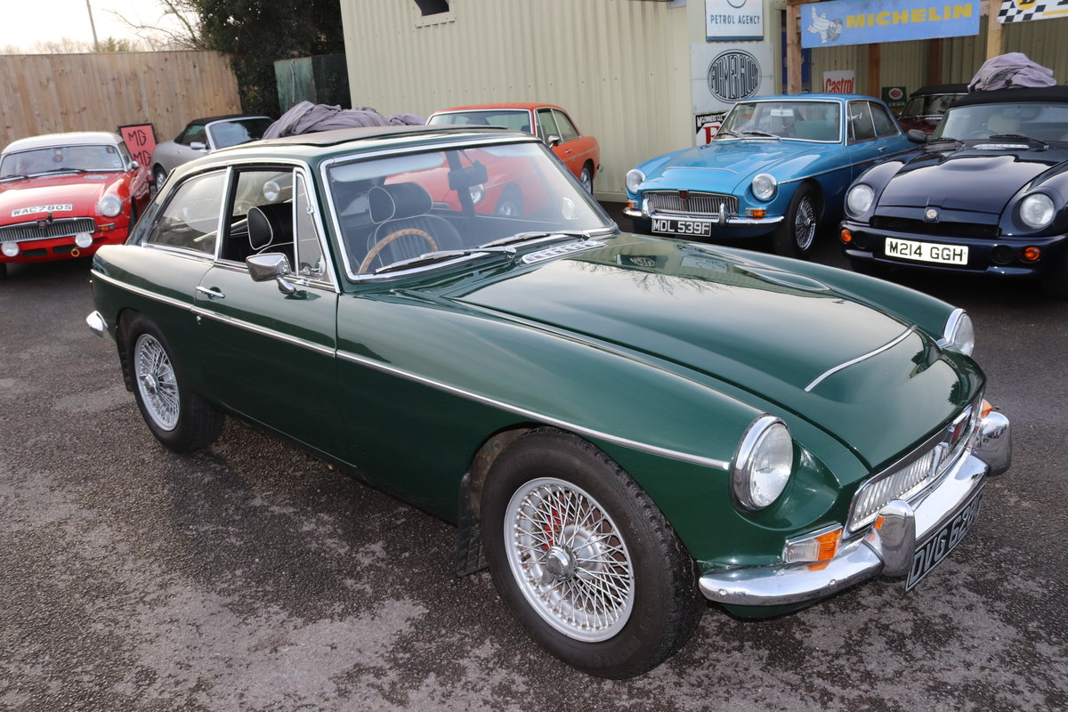 1969 MGC GT< UK Car with triple webers For Sale (picture 1 of 6)