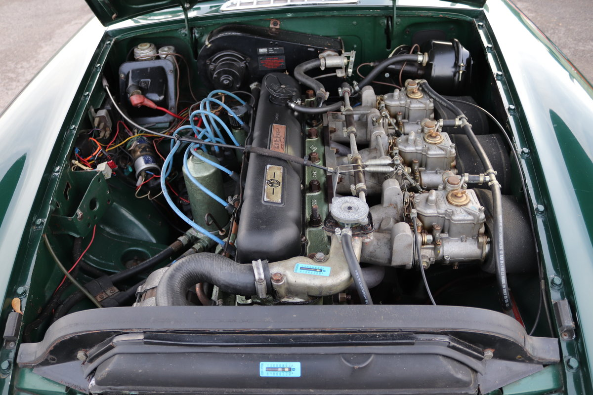 1969 MGC GT< UK Car with triple webers For Sale (picture 3 of 6)