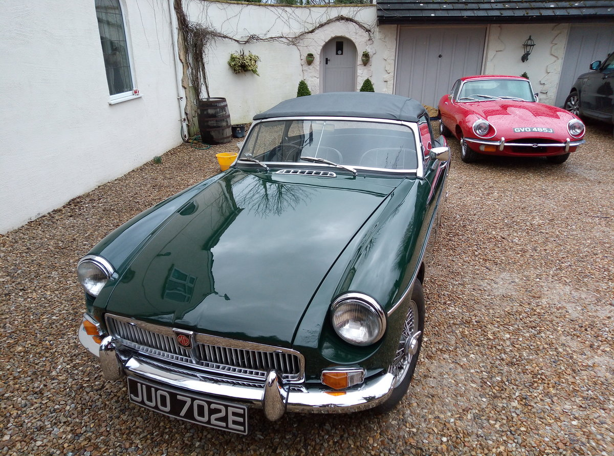 MGB ROADSTER 1967  For Sale (picture 4 of 6)