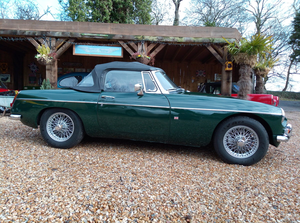 MGB ROADSTER 1967  For Sale (picture 6 of 6)