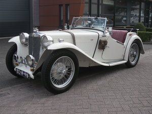 MG TC 1948 in beautifull condition For Sale